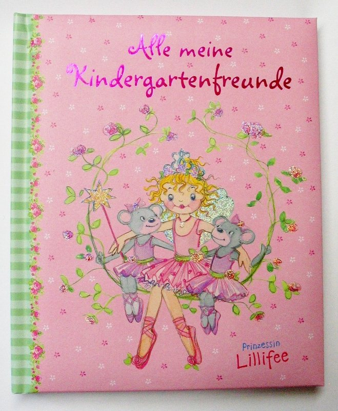 PRINZESSIN-LILLIFEE-KINDERGARTEN-FREUNDE-BUCH-NEU